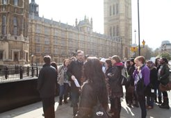 School of Social Policy visit to the Houses of Parliament
