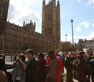 Social Policy students arriving at the Houses of Parliament