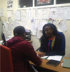 Janet Nambuya, 2nd year Social Policy student, Immigration Advisor, Life Line Options, Birmingham