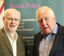 Robert Page and Roy Hattersley at the Social Democracy and its Future event