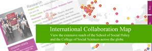 International Collaboration map
