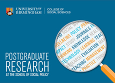 PG Research at the School of Social Policy