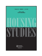 Book cover Housing Studies