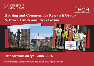 Network lunch and ideas forum, 9 June 2015
