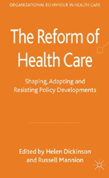 The Reform of Health Care book cover