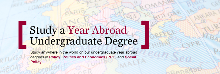 Year Abroad opportunities in the School of Social Policy