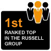Our course is ranked first in the Russell Group