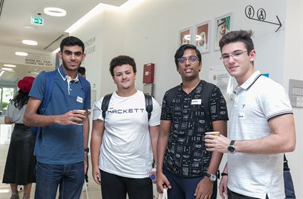 New students meeting at Welcome Week 2019