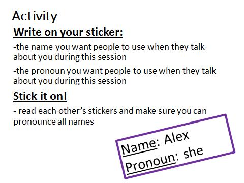 Pronoun Activity