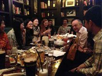 During his visit to Guangzhou in Feb 2013, Prof Edward Peck had a pleasant gathering with our Alumni who work and live in Guangzhou.