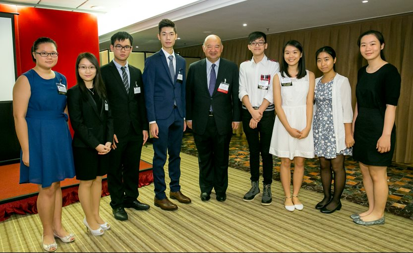 Hong Kong Excellence Scholarship winners for 2015