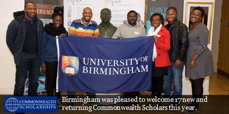 2016 Commonwealth Scholars