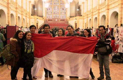 Indonesia Group Photo Great Hall Aston Webb Building