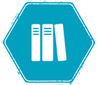 Icon of some books