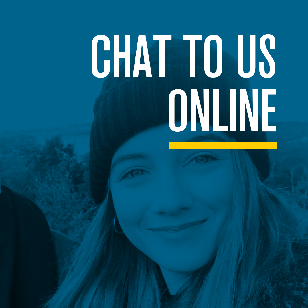 Chat to us online