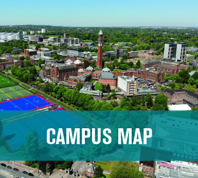 Campus Map of University of Birmingham