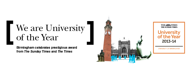 We are University of the Year
