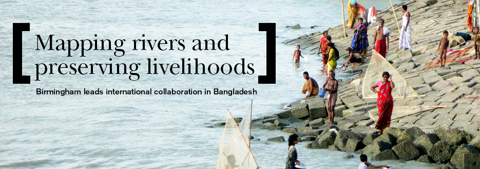 Mapping rivers and preserving livelihoods