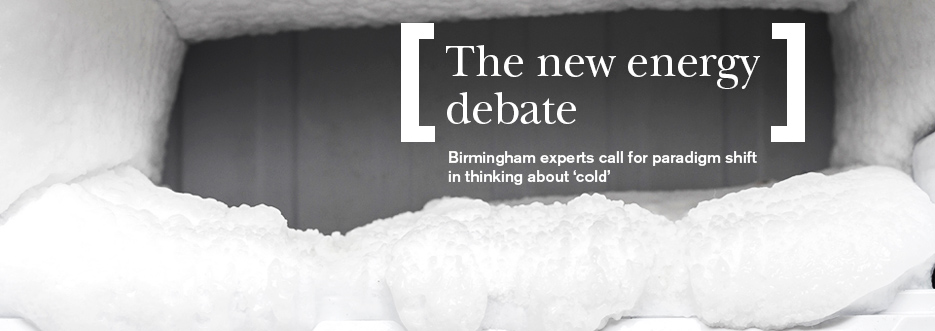 Birmingham says global demand for 'cold' should be taken seriously with launch of new Policy Commission