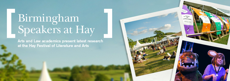 The Birmingham speaker series at the Hay Festival