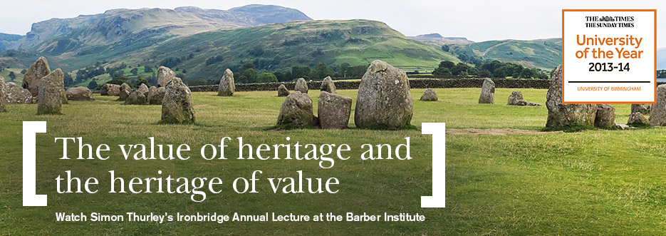 The Value of Heritage and the Heritage of Value