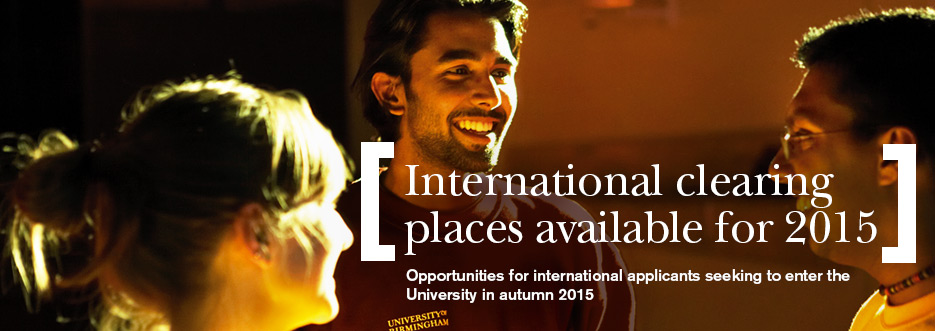 Clearing for international students