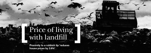 Cost of living with landfill