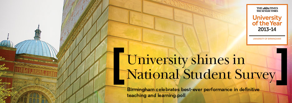 University shines in National Student Survey