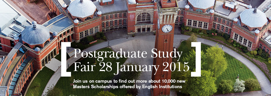Postgraduate Study and Funding Fair