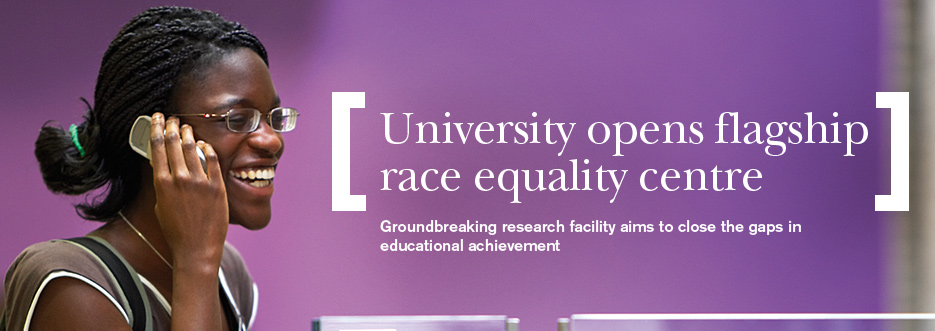 Launch of new research centre into race equality