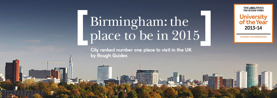 Why our students love Birmingham