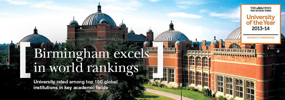 Birmingham excels in world rankings