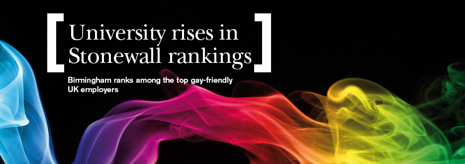 Birmingham ranks among the top gay-friendly UK employers