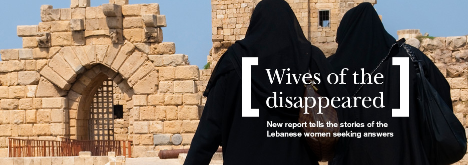Decades after the civil war, wives of missing men in Lebanon continue to suffer