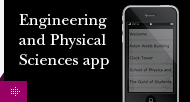 Engineering and Physical Sciences app