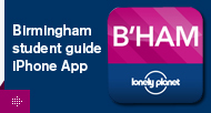 Birmingham student guide iPhone app