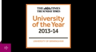 University of Birmingham Times ?University of the Year 2014