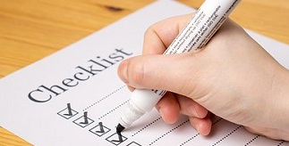 Essential checklist for students