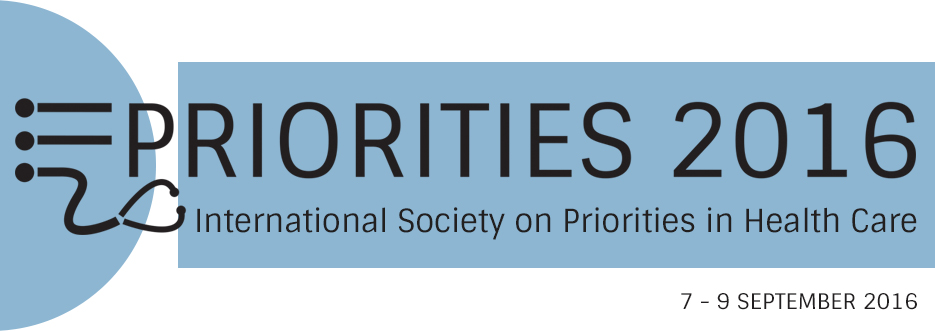 Priorities 2016 conference University of Birmingham