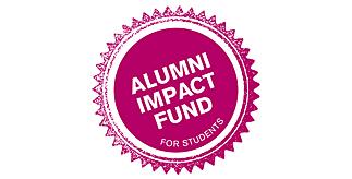 Alumni Impact Fund stamp logo