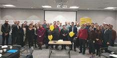 Group of Birmingham Energy Institute staff