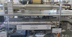 Close-up of energy lab equipment