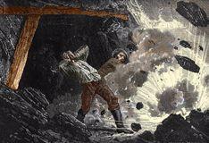 Man in mining explosion
