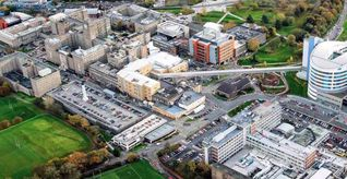 Aerial shot of the Medical School