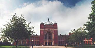 External view of Aston Webb, University of Birmingham