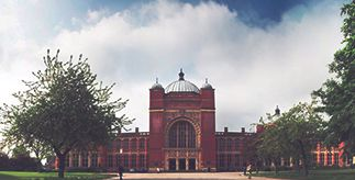 The exterior of Aston Webb, University of Birmingham