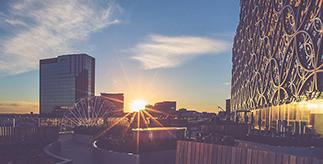 View of Birmingham city centre
