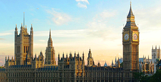 The Houses of Parliament, UK