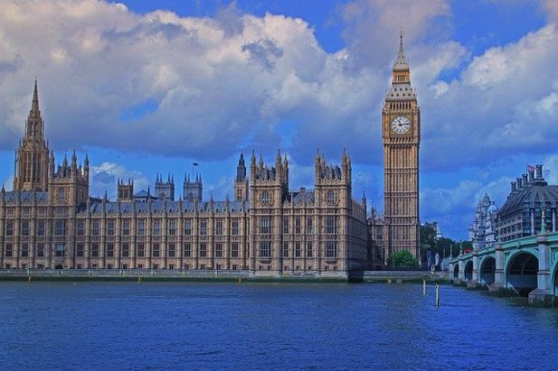 Houses of Parliament Inside