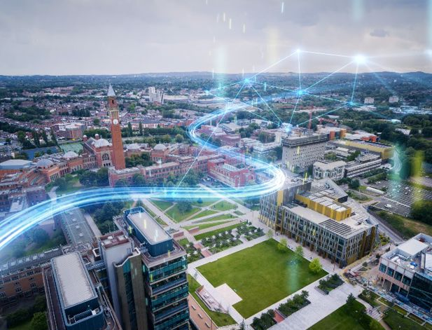 The University of Birmingham partners with Siemens to create the smartest  university campus in the world